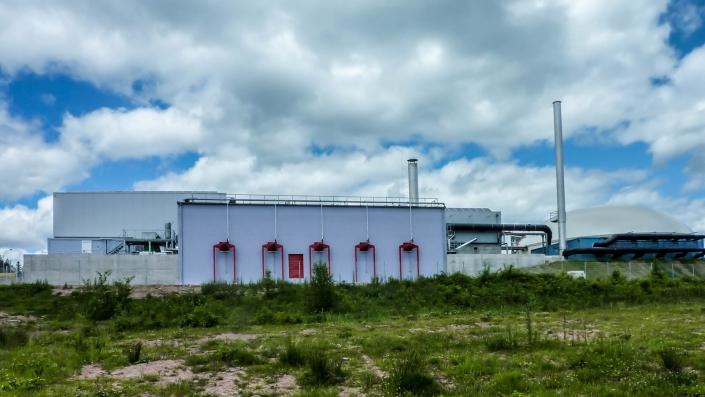Tragwerksplanung Industrie- und Verwaltungsbau Bioabfallanlage Freudenstadt