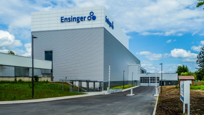 Tragwerksplanung Industrie- und Verwaltungsbau Firma Ensiger Nufringen