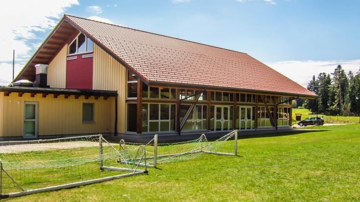 Tragwerksplanung Öffentliche Bauten Bürgerhaus in Göttelfingen