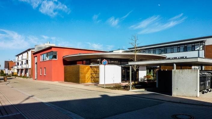 Tragwerksplanung Öffentliche Bauten Seniorenzentrum in Dornhan